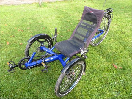 PEPS TRIKE HPVelotechnik gekko fx26 location